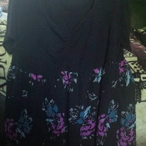 Torrid size 3 baby doll.top